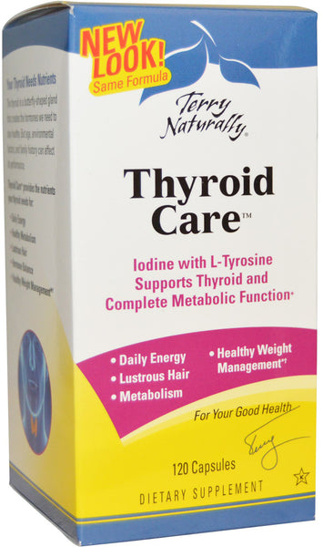 Thyroid Care - Supports Thyroid & Complete Metabolic Function by Terry Naturally