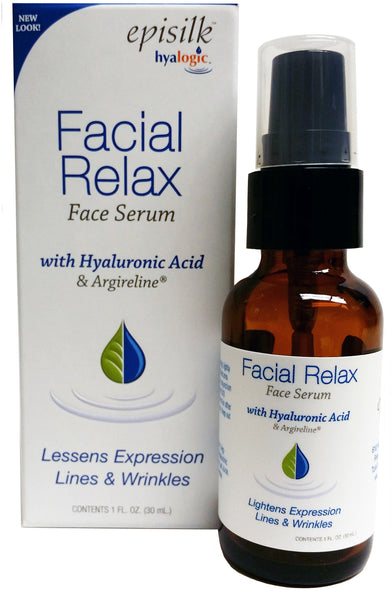 Episilk™ Facial Relax Serum - HA Lessens Expression Lines & Wrinkles by Hyalogic
