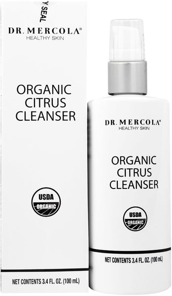 Organic Citrus Cleanser - A Pure & Mild Rejuvenating Cleanser That Nourishes Skin by Dr. Mercola