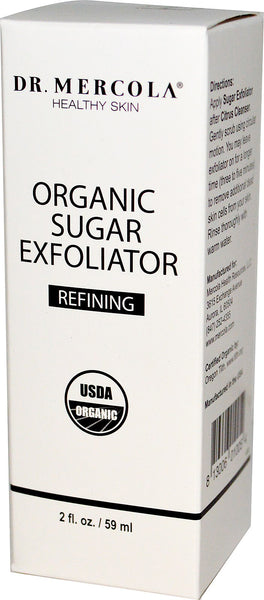 Organic Sugar Exfoliator - Helps Keep Your Face Smooth & Radiant Dr. Mercola
