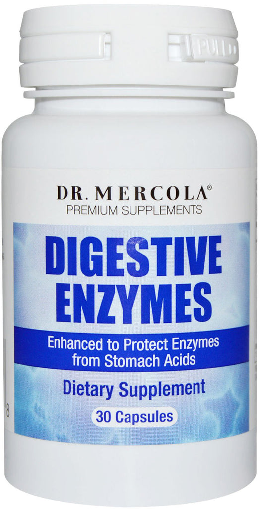 Digestive Enzymes - Helps Soothe Your Digestive System by Dr. Mercola
