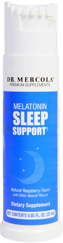 Melatonin Sleep Support - Calm Your Mind & Fall Asleep More Quickly by Dr. Mercola