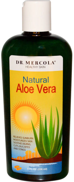 Aloe Vera - Ideal as a Daily Moisturizer, Hair-Styling & Shaving Gel by Dr. Mercola