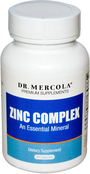Zinc Complex - Supporting Healthy Cellular Growth by Dr. Mercola