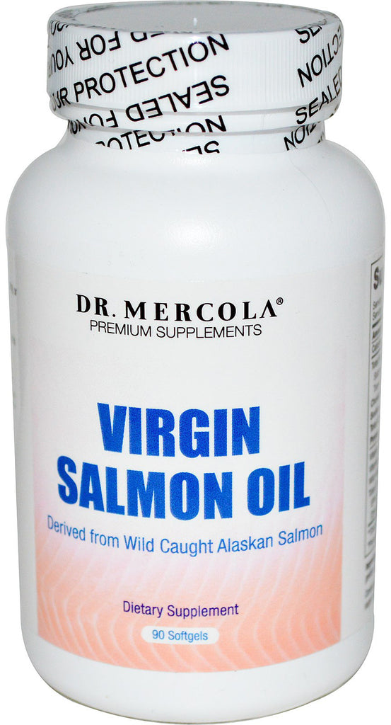 Virgin Salmon Oil - Support For Your Brain Function & Heart Health by Dr. Mercola