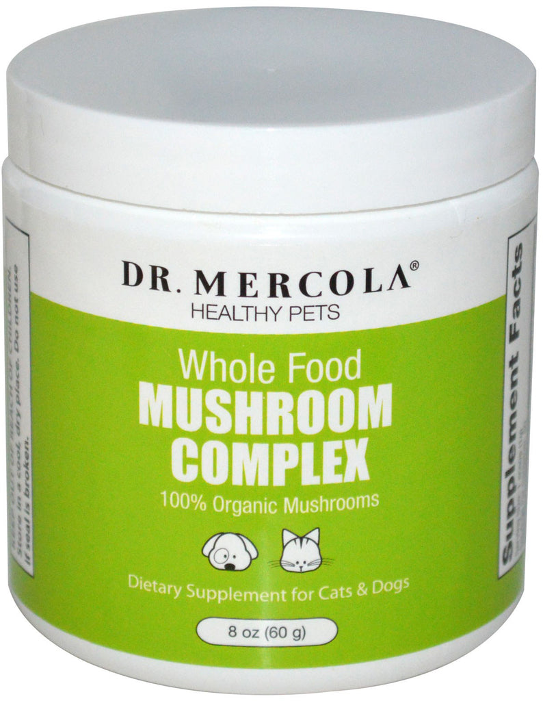 Mushroom Complex - Dietary Supplement For Cats & Dogs by Dr. Mercola