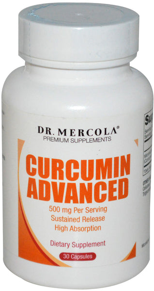 Curcumin Advanced - Sustained Release For Maximum Absorption by Dr. Mercola