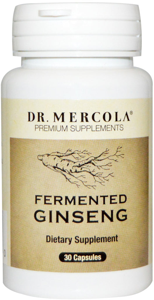 Fermented Ginseng - Support Immune System & Overall Well-Being by Dr Mercola