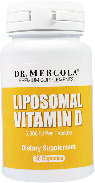 Liposomal Vitamin D - Essential For Heart Health & Joint Health by Dr. Mercola
