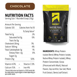 Ascent Native Fuel Whey Protein Powder Blend - 2 lbs - Chocolate