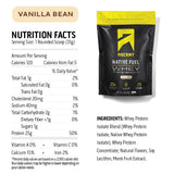 Ascent Native Fuel Whey Protein Powder Blend - 2 lbs - Vanilla