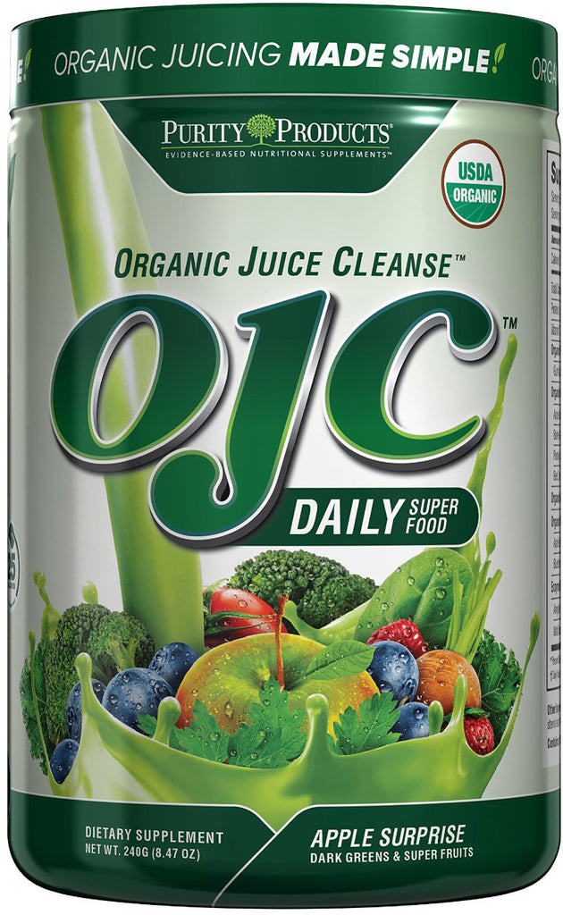 Certified Organic Juice Cleanse (OJC) - Supports the Body's Ability to Cleanse by Purity Products