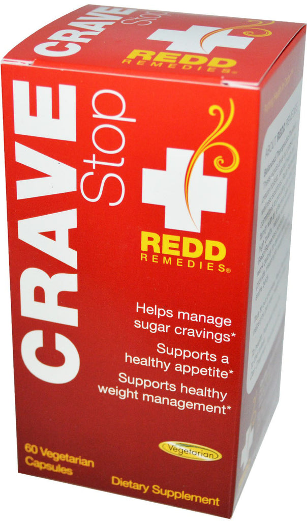 Crave Stop - Addresses Sugar Cravings & Helps Control Appetite by Redd Remedies