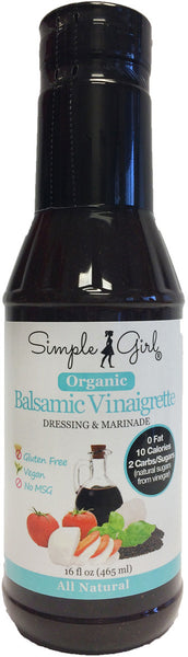 Balsamic Vinaigrette - Made with Organic Balsamic Vinegar of Modena by Simple Girl