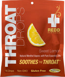 Throat Drops - Natural Menthol Vapors With Pure Essential Oils by Redd Remedies cherry