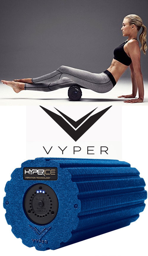 Vyper - 3 Speed Vibrating Foam Roller for Muscles by HyperIce