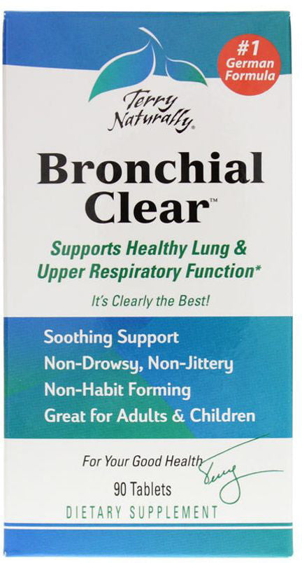Bronchial Clear - Supports Healthy Lung & Upper Respiratory Function by Terry Naturally