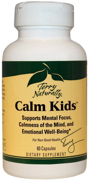 Calm Kids - Supports Brain Function & Overall Central Nervous System by Terry Naturally