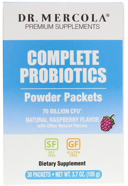 Complete Probiotics Powder Packets - Perfect for Travel or your Busy Life On-the-go by Dr. Mercola