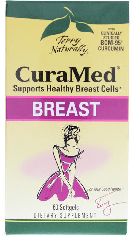 CuraMed Breast - Supports Healthy Breast Cells by Terry Naturally