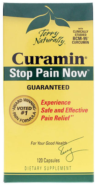 Curamin - Experience Safe and Effective Pain Relief by Terry Naturally