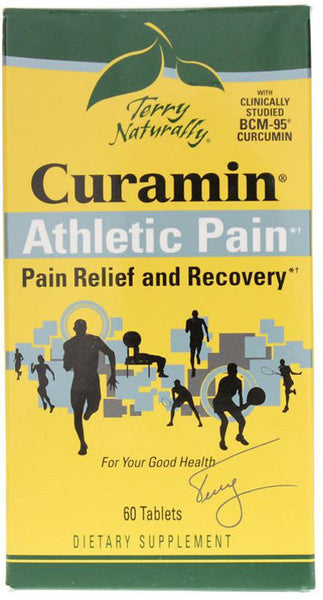 Curamin Athletic Pain - Pain Relief & Recovery by Terry Naturally