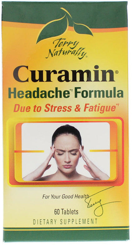 Curamin Headache - All-Natural Support for Headache Relief by Terry Naturally
