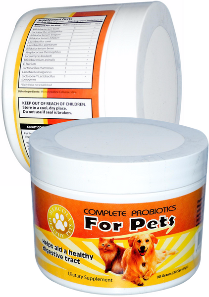 Complete Probiotics for Pets - Helps Develop A Healthy Digestive Tract by Dr. Mercola