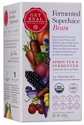 Fermented SuperJuice - Support Healthy Brain & Nervous System Function by Get Real Nutrition