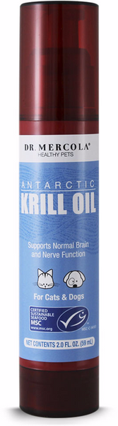 Antarctic Krill Oil - Normal Brain & Nerve Function For Pets by Dr. Mercola