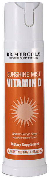 Sunshine Mist Vitamin D - Supports Optimal Health With 6,000IU of Vitamin D in Every Spray by Dr. Mercola