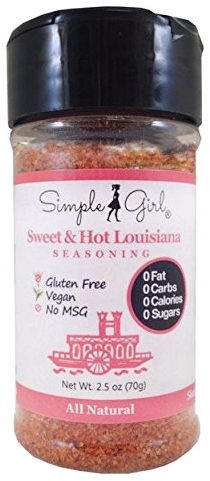 Sweet & Hot Louisiana - a Cajun-Style Seasoning that has Sweet, Spicy, Smoky & Salty Flavors by Simple Girl