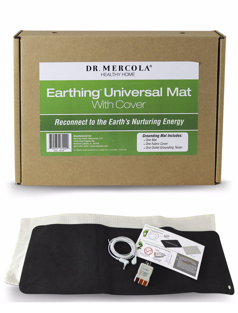 Earthing Universal Mat with Cover - Reconnect to the Earth's Nurturing Energy by Dr. Mercola