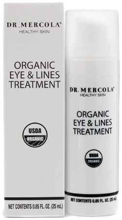 Organic Eye & Lines Treatment - Deeply Penetrating Moisturizers & Powerful Antioxidants by Dr. Mercola