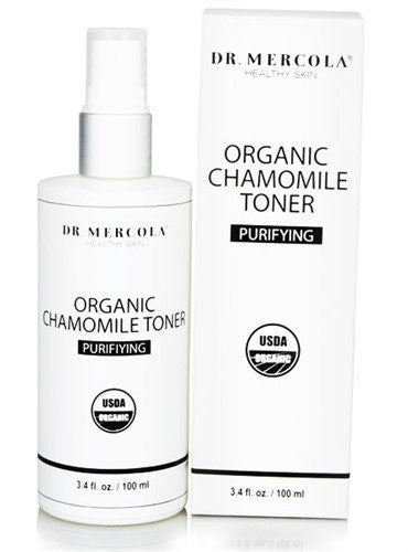 Organic Chamomile Toner - Help You Gently Get Rid of Dirt, Make-Up & Oil by Dr. Mercola