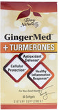 GingerMed + Turmerones - Provides Antioxidant Defense with Powerful Compounds by Terry Naturally
