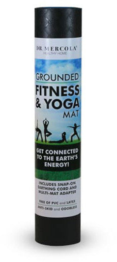 Grounded Fitness & Yoga Mat - Provides a Safe & Effective Way to Tap into the Earth's Energy by Dr. Mercola