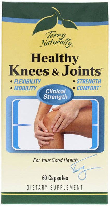 Healthy Knees & Joints - Supports Flexibility, Mobility, Strength & Comfort by Terry Naturally