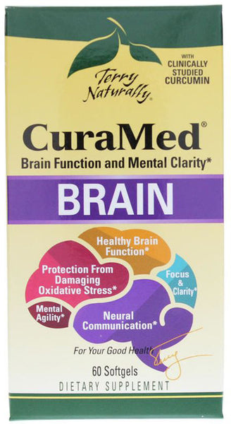CuraMed Brain - Brain Function & Mental Clarity by Terry Naturally