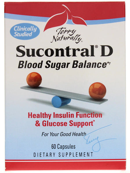Sucontral D - Healthy Blood Sugar & Insulin Function by Terry Naturally