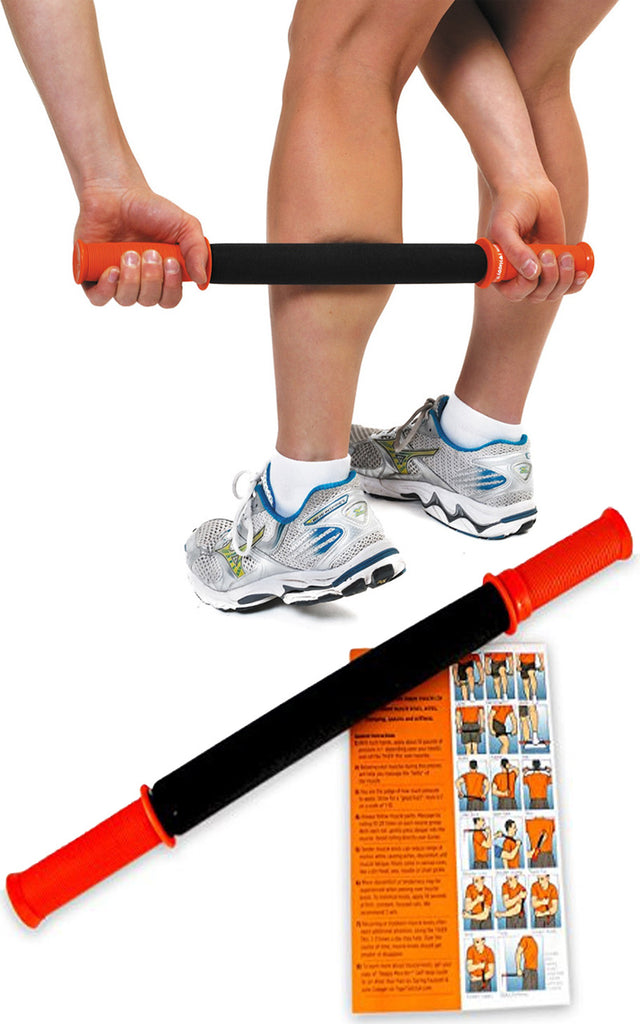 The Classic Muscle Roller - Helps Relieve Pain, Sore Muscles, Muscle Knots by Tiger Tail USA