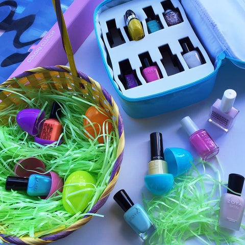 Color Clutch DIY Easter basket travel case