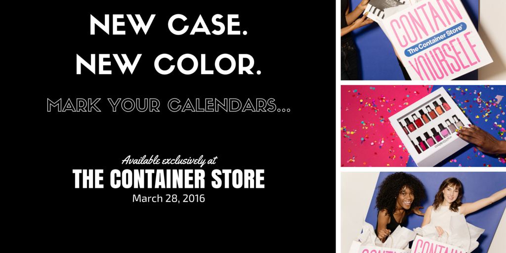 Container Store - Color Clutch launch