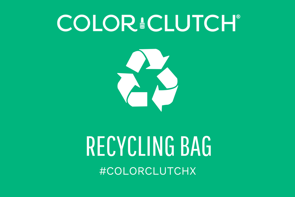 COLORCLUTCHX RECYCLING BAG (Limit 1 per person)