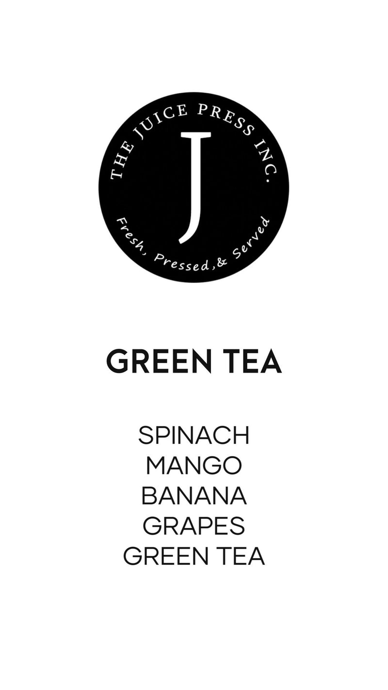 GREEN TEA - The Juice Press Inc.