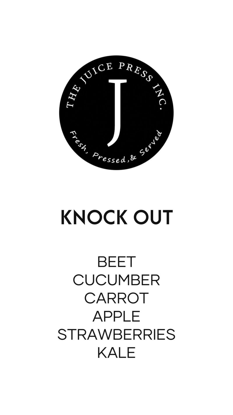 KNOCK OUT - The Juice Press Inc.