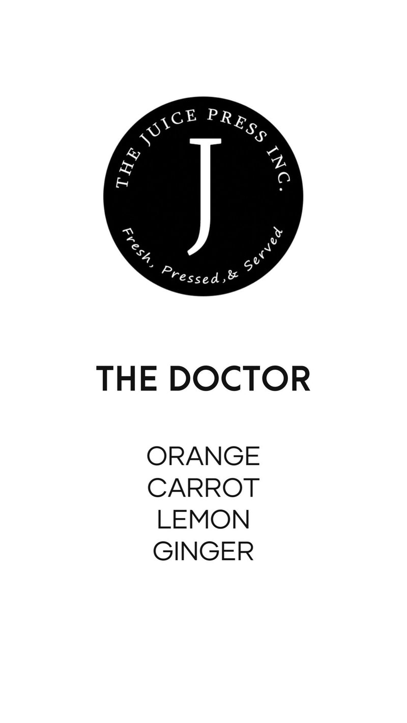 THE DOCTOR - The Juice Press Inc.