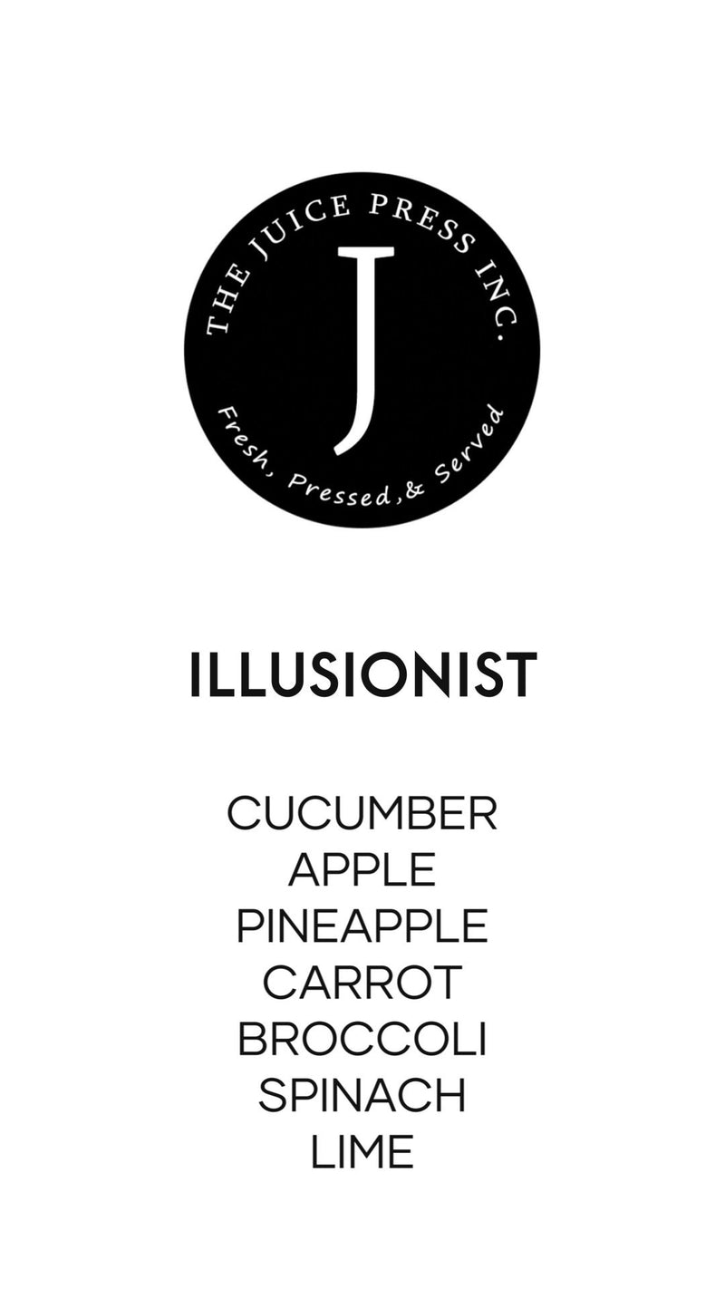 ILLUSIONIST - The Juice Press Inc.