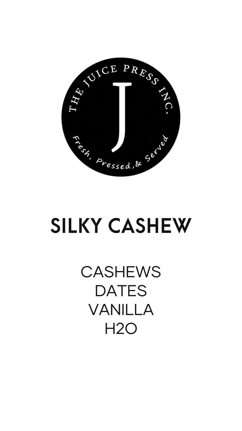 SILKY CASHEW - The Juice Press Inc.