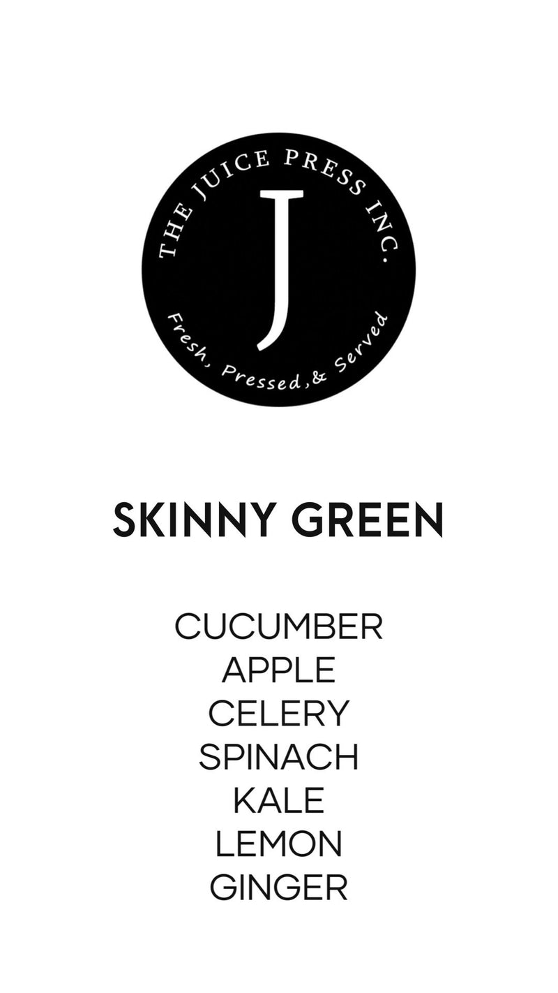 SKINNY GREEN - The Juice Press Inc.